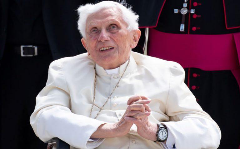 Benedetto XVI   Lettera in risposta ai messaggi per la morte del fratello