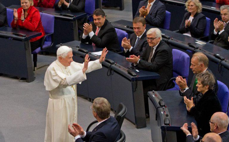 """Benedetto XVI   Messaggio al convegno """"Diritti fondamentali e conflitti tra diritti"""""""