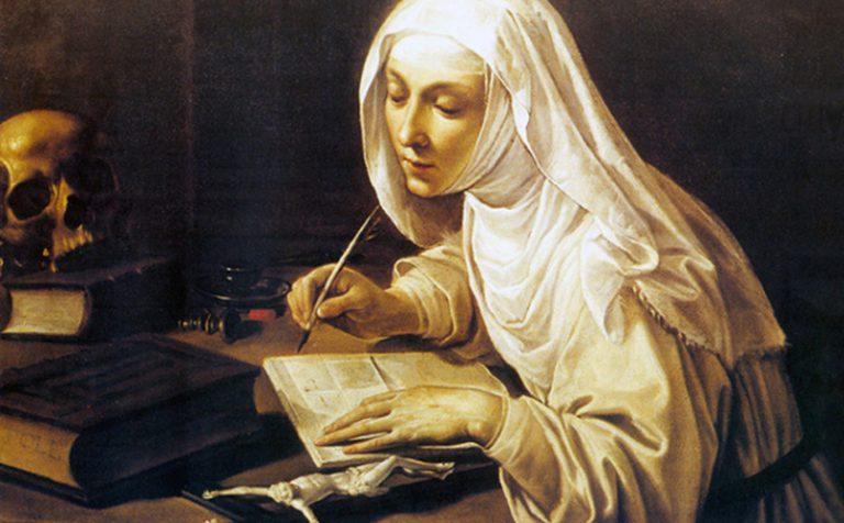 Benedetto XVI | Sante e beate: figure femminili del Medioevo