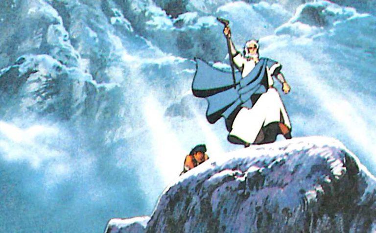 Il racconto a fumetti dei grandi episodi della Bibbia
